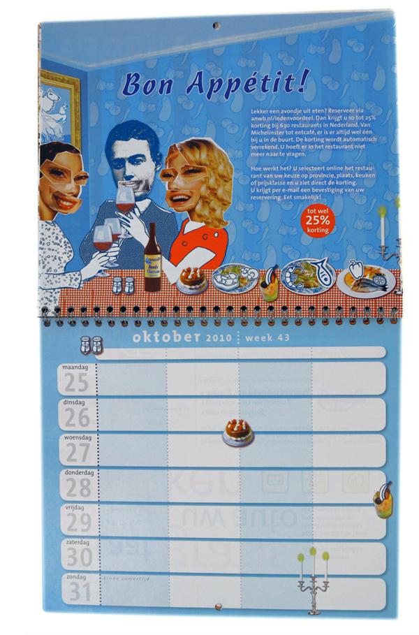 kalender_anwb_weekplanner_restaurant_bliq_illustratie