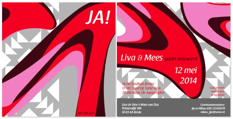 studio_bliq_trouwkaart_abstract_rood_grijs
