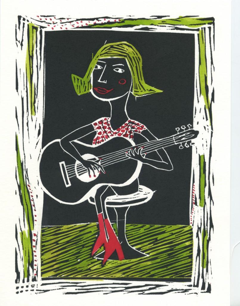 studio_bliq_gitaar_meisje_illustratie