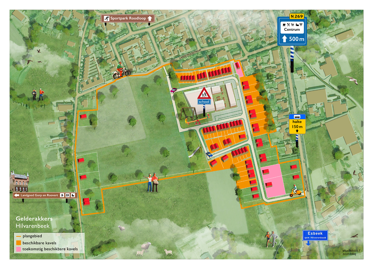 studio_bliq_plattegrond_gemeente_hilvarenbeek_plan_illustratie_kavel