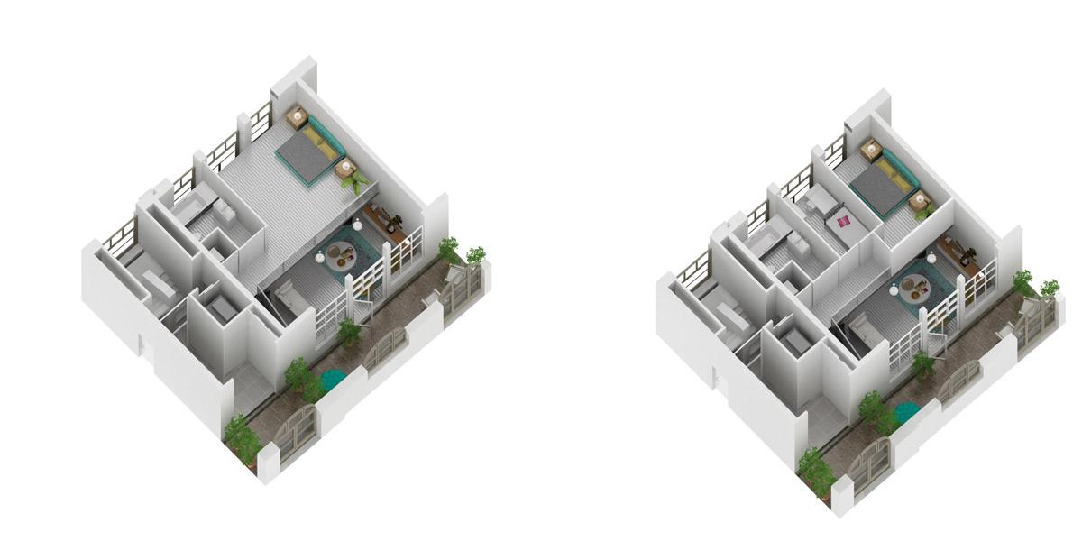 Archibliq_Jawel_Expressie_Nieuwstraat_3d_plattegrond